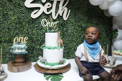 SETH's TURNS ONE 1st BIRTHDAY PARTY