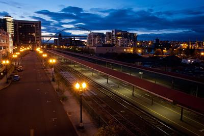 Portland, Oregon @ Night
