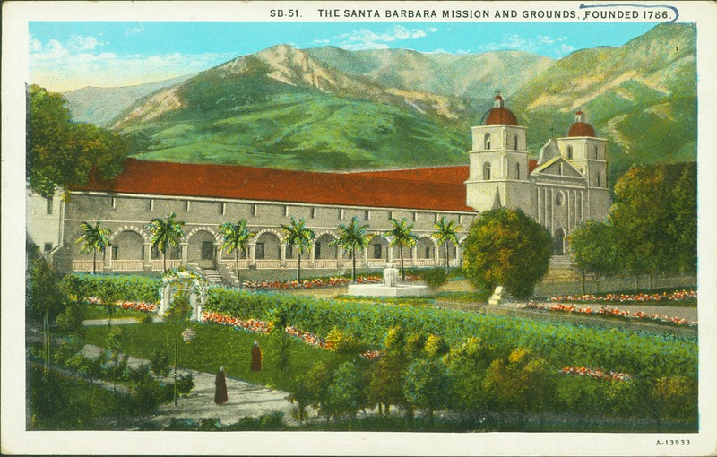 Santa Barbara Mission and Grounds