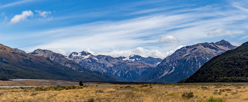 An der Route des «Arthur's Pass»