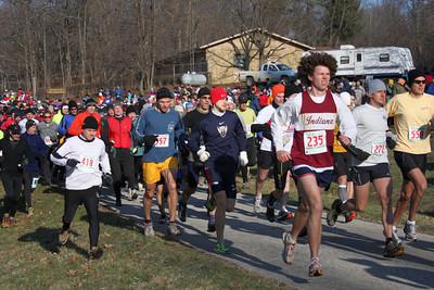 Tecumseh Trail Marathon - Start