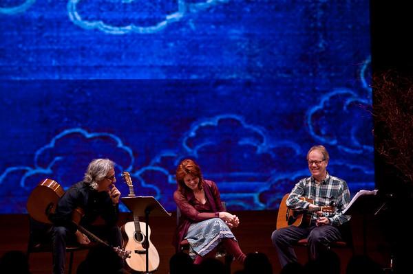 Rosanne Cash, Louden Wainwright & John Leventhal at the Rubin Museum of Art