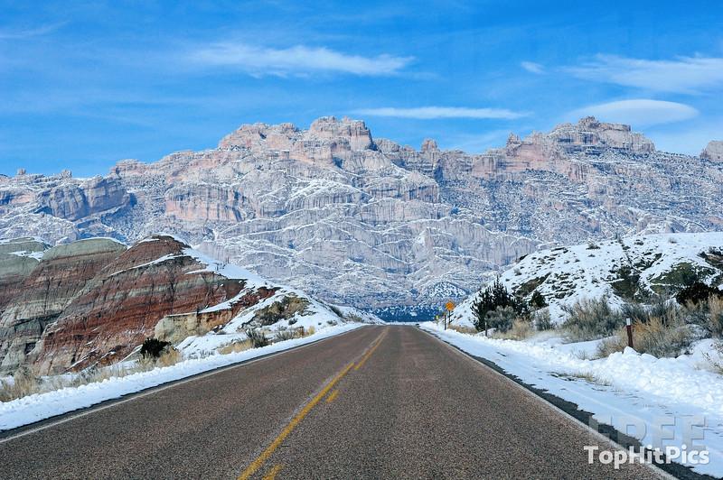 U.S. Route 191 in Utah, USA
