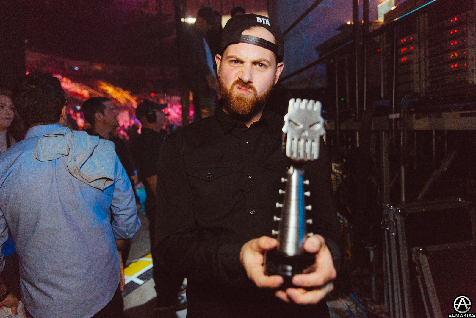 Kevin Skaff of A Day To Remember at the APMAs 2015 by Adam Elmakias