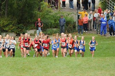 Girls Middle School Race