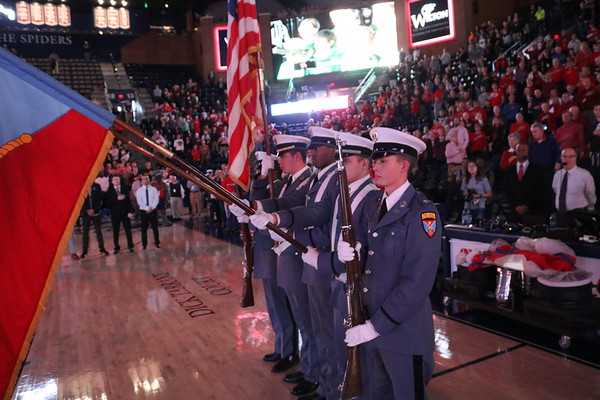 Color Guard and Admissions Information Table