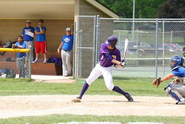 Baseball vs. Cassopolis - Districts - KCHS - 5/29/15