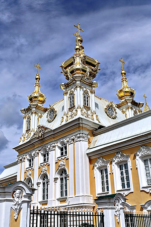 Russia - St. Petersburg, Peterhof Palace 2016