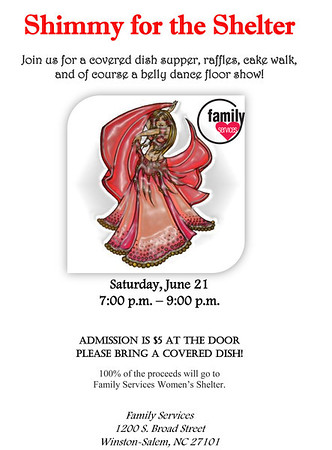 6-21-14 Shimmy For The Cause