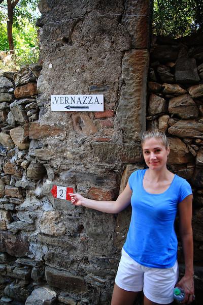 The leg of the trail from Corniglia to Vernazza.
