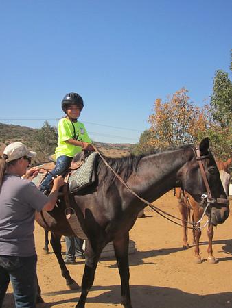 YES! Horseback Riding 8.25.2011
