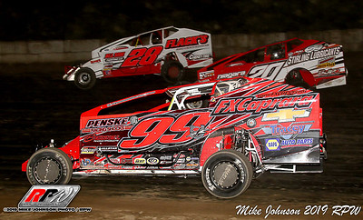 Fulton Speedway - 8/10/19 - Mike Johnson