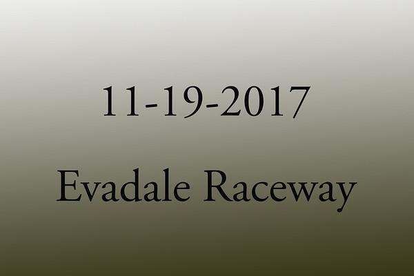 11-19-2017 Evadale Raceway 'Track Rental T&T'