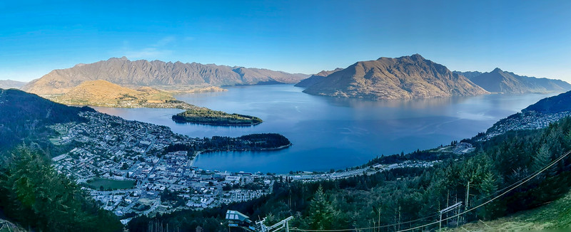 Lake Wakatipu from the Skyline Gondola
