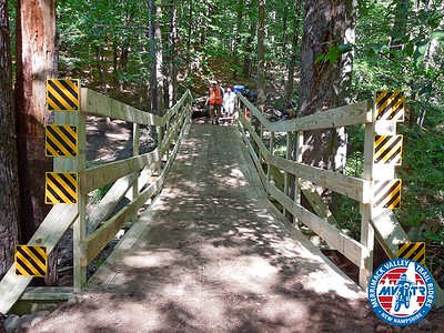 MVTR and Blurred Vision ATV build  a bridge (Sept 2015)