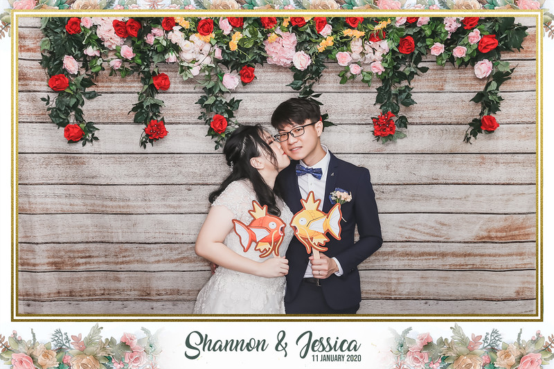 Wedding of Shannon & Jessica   © www.SRSLYPhotobooth.sg