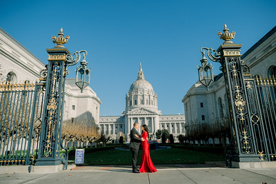 Christine and Mike - Engagement session - San Francisco