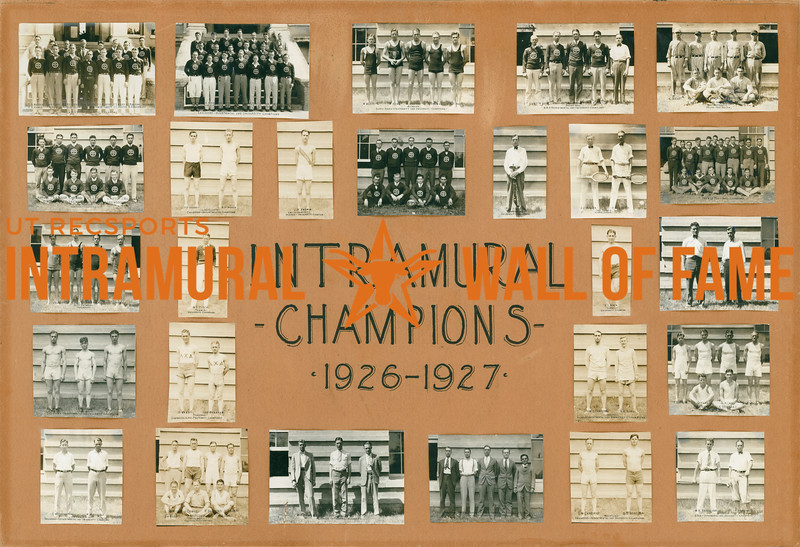 Intramural Champs 1926-27