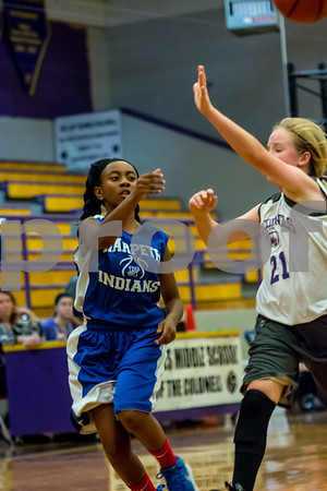 Middle School Girls Basketball 2017-2018