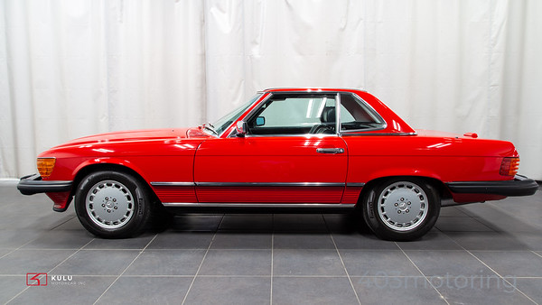 '88 560SL - Red