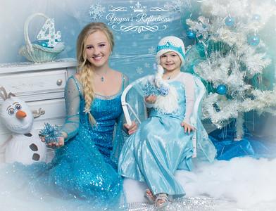 Rowan's Frozen 4th Birthday
