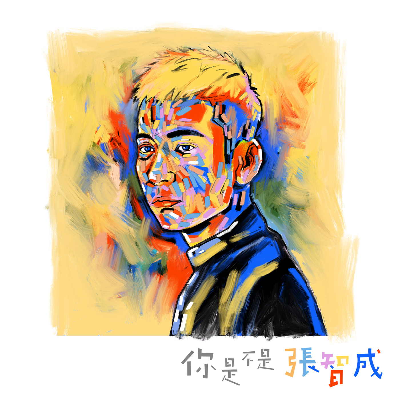 张智成 你是不是 张智成 Large Album Art Cover