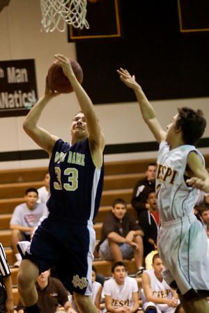 ND Freshman Basketball Crespi