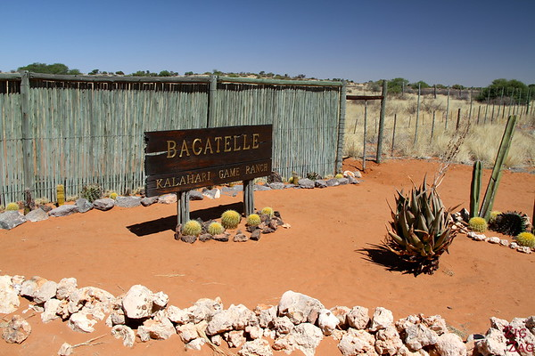Bagatelle ranch in Kalahari desert, Namibia