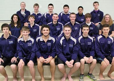 Tamaqua Boys Swim Team, High School, Tamaqua (11-25-2013)