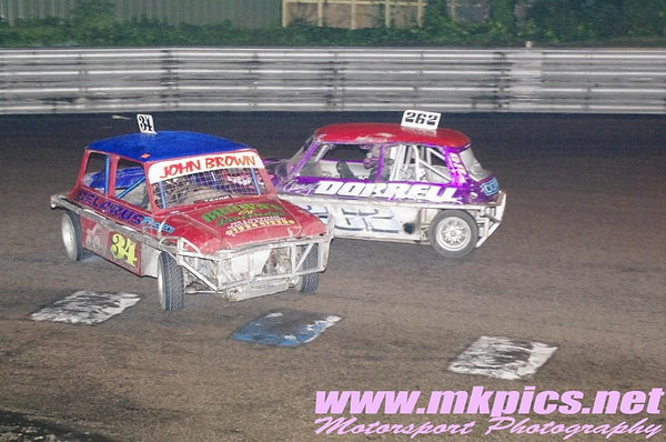 National Ministox, Birmingham Wheels Raceway, 19 October 2013