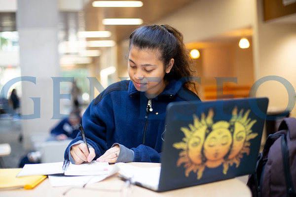 Student Studying in Bailey