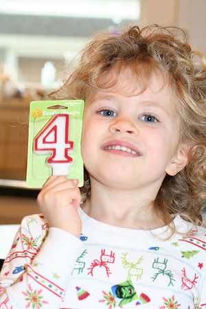 Sarah's 4th Birthday