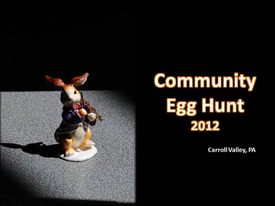 Carroll Valley Egg Hunt 2012