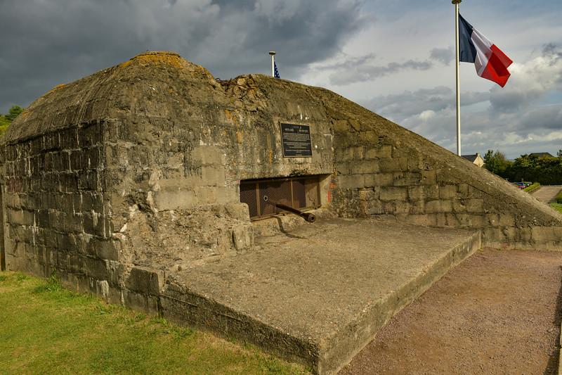 Gun Battery near Saint-Laurent-sur Mer--Overlooking Omaha Beach