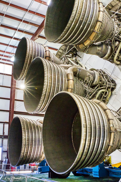 Saturn V Engine Thrusters