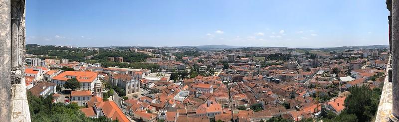 View over Leiria