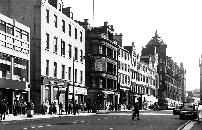 Trongate, north side.  September 1973