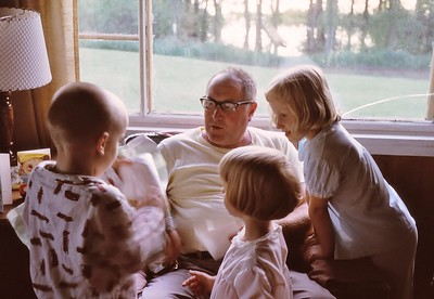 1967 Gary & Grandchildren