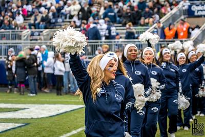 Penn State vs Michigan State Cheerleaders