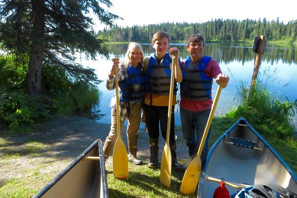 Day 10: National Wildlife Refuge  Canoe Trip, drive to Homer