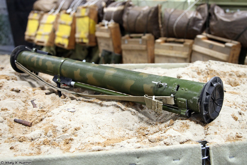 Малогабаритный реактивный огнемет МРО-А (MRO-A rocket-propelled flame-thrower)