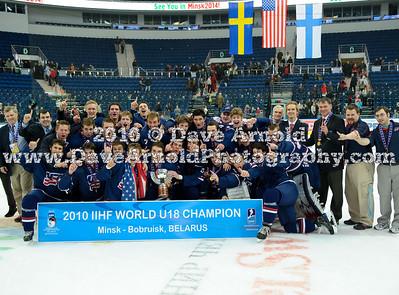 4/23/2010 - U18 World Championship Celebration