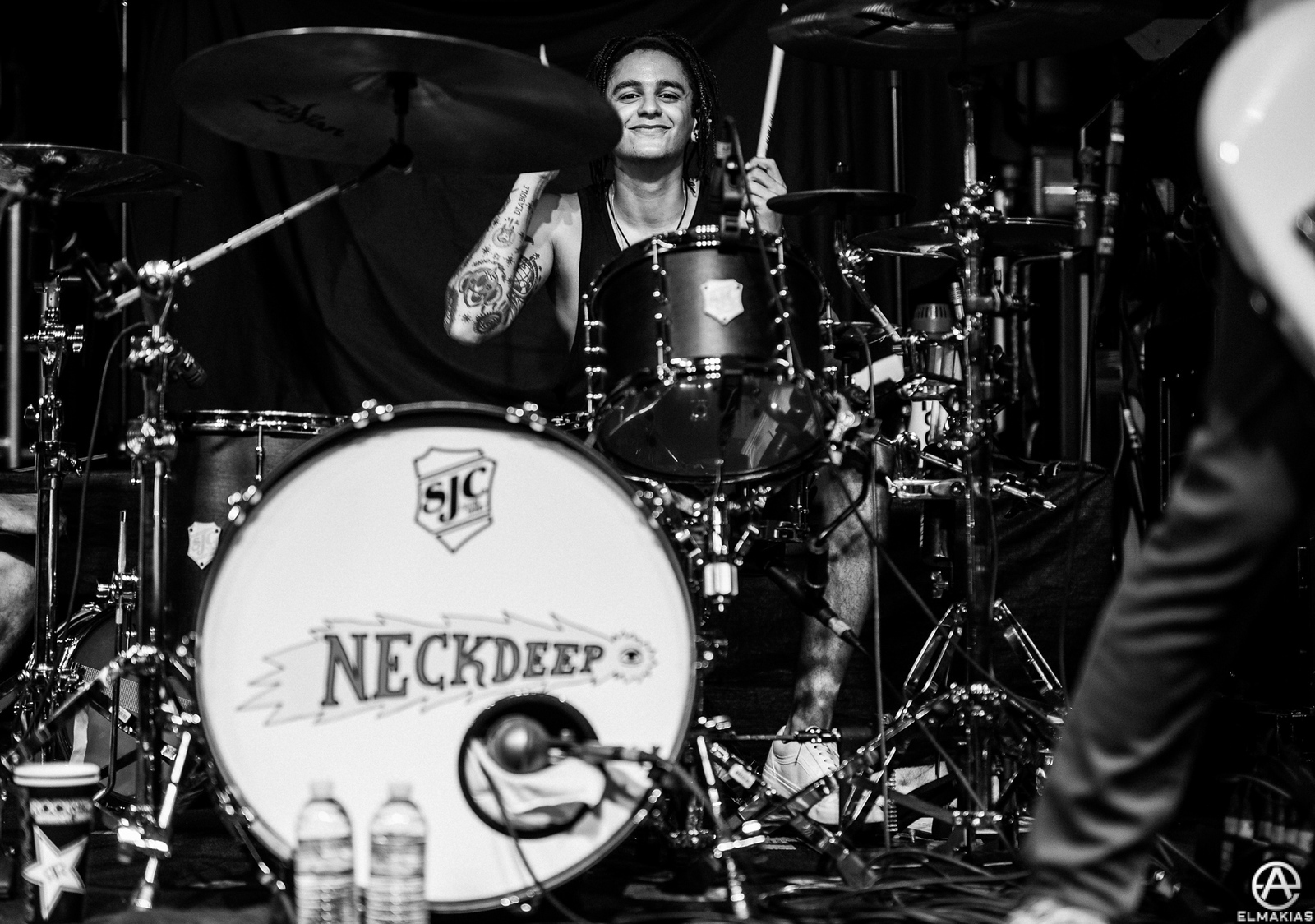 Dani Abasi of Neck Deep