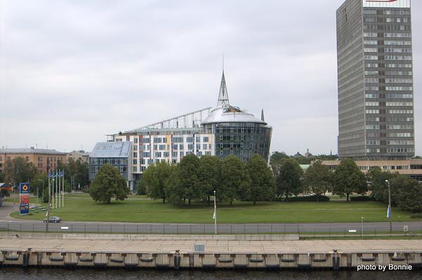 Riga and Helsinki