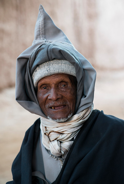 Portrait of a local man.  Tamegroute, Morocco, 2018