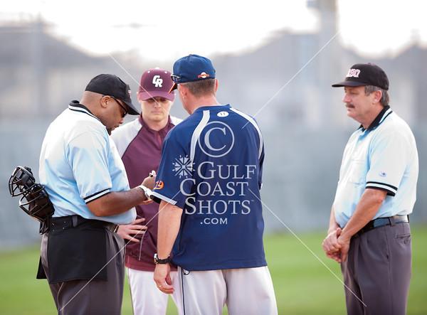 2012-03-14 Baseball Varsity Seven Lakes @ Cinco Ranch