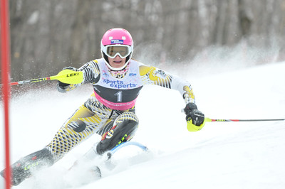 2012 Feb 19th AM - FIS Bromont Slalom - Women