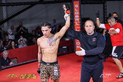 Justin Vazquez (W)  vs Ty Kalista