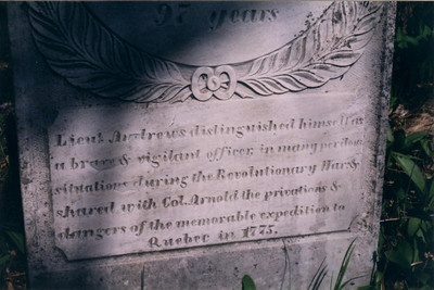 Ammi Andrews Grave