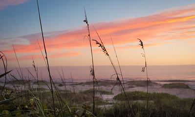 Sunrise on Cocoa Beach Saturday, Jan 12th, 2013